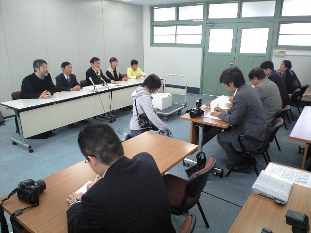 【佐賀レポート】県庁にて記者会見