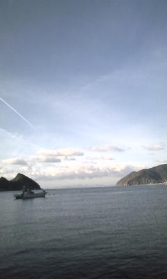 【田ノ浦レポート】12/7 14:39「台船が移動しました。」